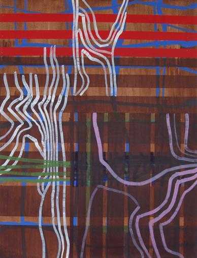 Ed (2006) Acrylic on Gesso, 60cm x 79cm
