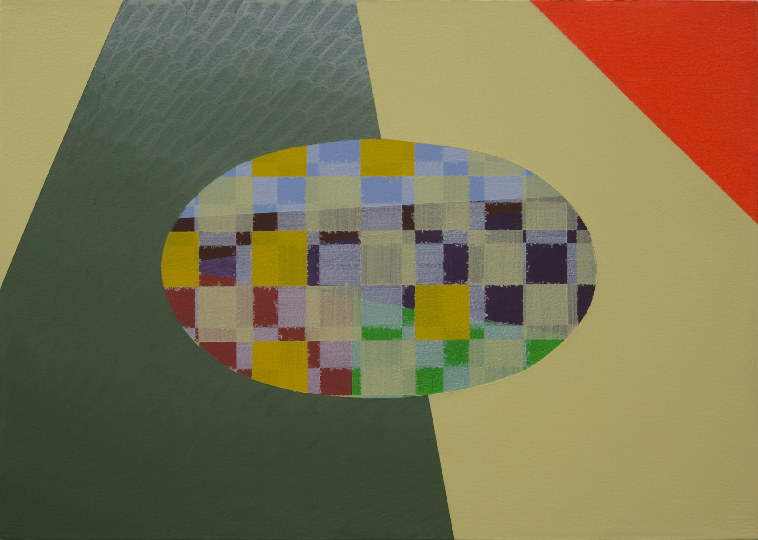 An Advantageous Prospect (2009) Acrylic on Canvas 50cm x 70cm