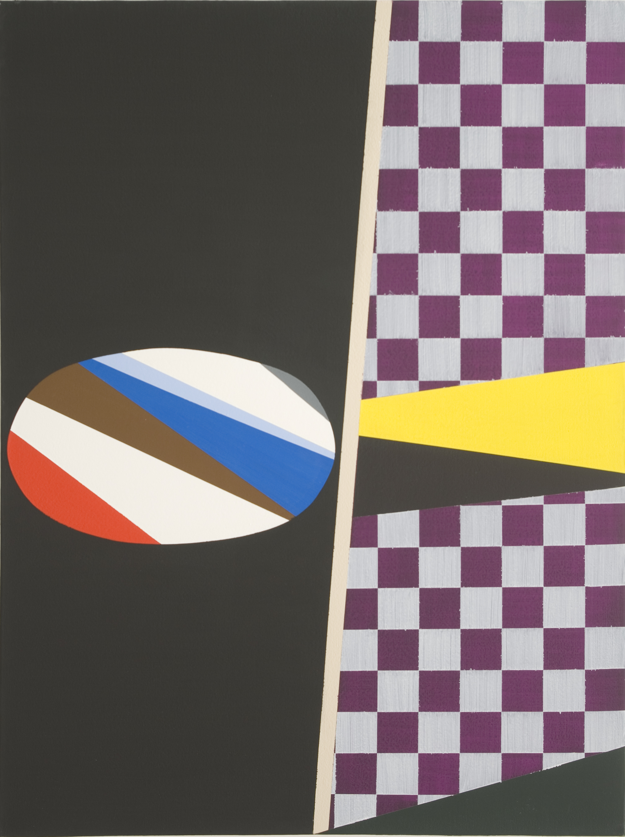 In Front and Back (2009) Acrylic on Canvas 76cm x 102cm