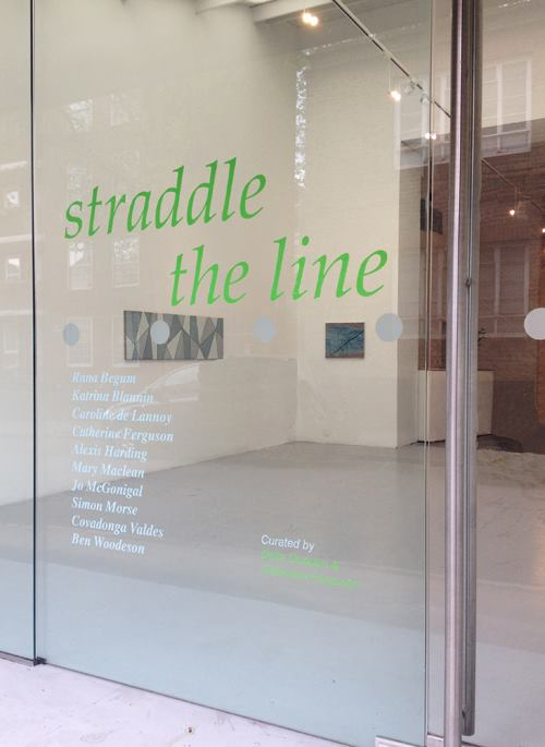 Straddle the Line April, 2014, APT Gallery